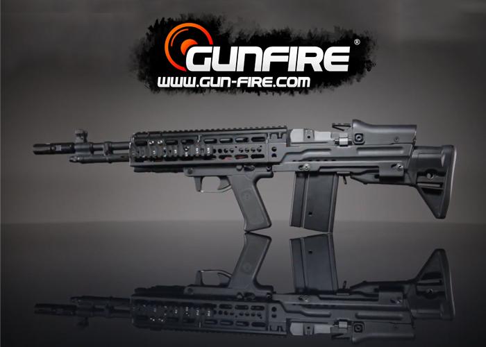 Gunfire Instant Video: M14 EBR Bullpup