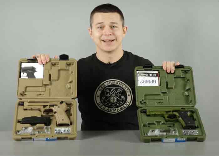 Gunfire: GPM92 GBBs From G&G Armament