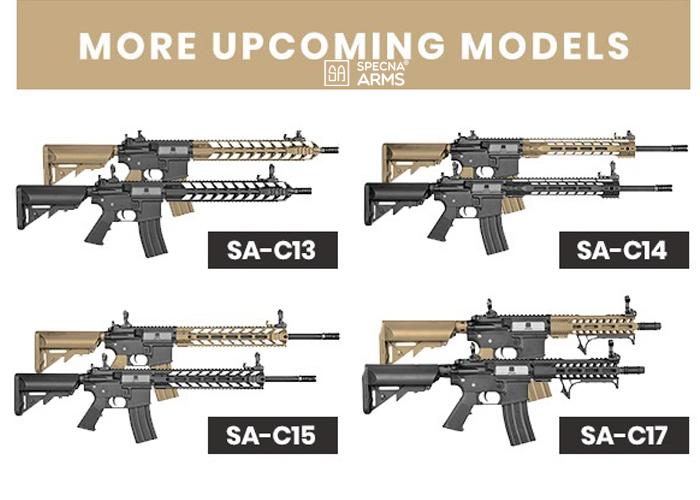 Gunfire: More Specna Arms Core AEGs