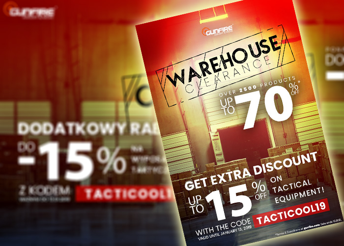 Gunfire Warehouse Clearance Sale 2019 More Discounts