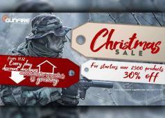 Gunfire Christmas Sale 2018