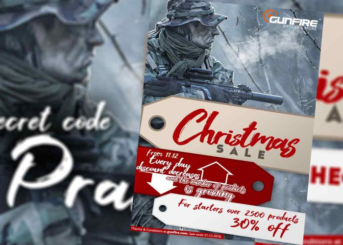 Gunfire Christmas Sale Code 2018