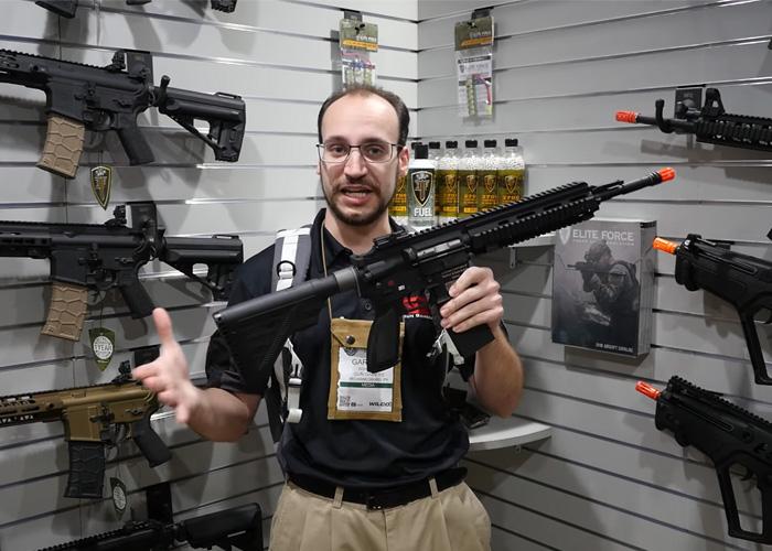 Gun Gamers: Elite Force HK416 GBBR By KWA SHOT Show 2019
