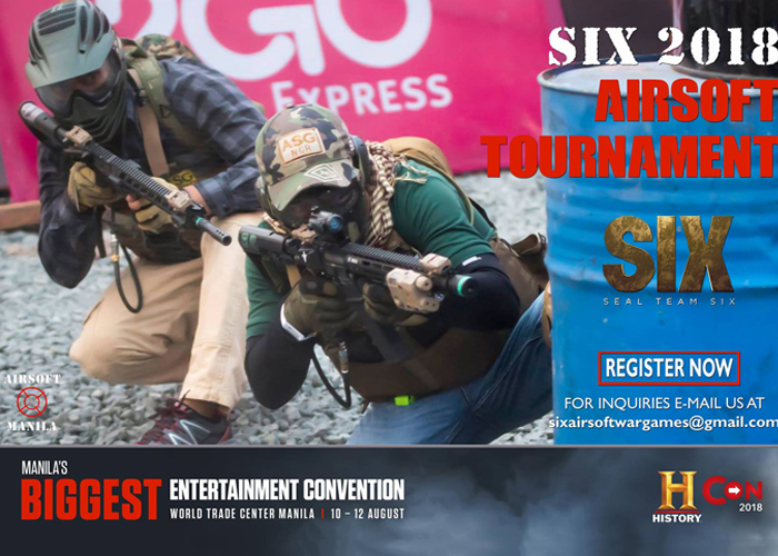 Historycon 2018 SIX Airsoft Tournament