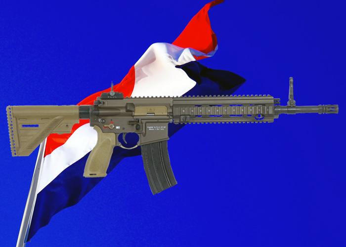 Netherlands HK416 A5 Rifle