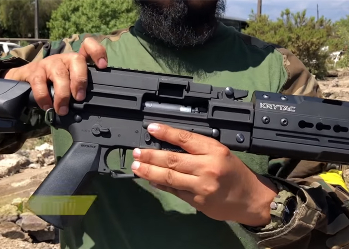 Infamous Airsoft: Krytac LMG Review