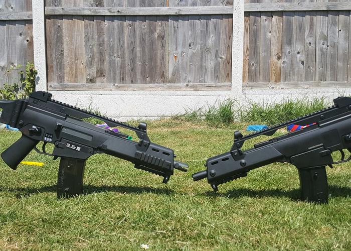 Specna Arms & Jing Gong G36C Comparison