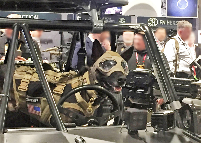 K9 Helmet Trident K9 Tactical Helmet