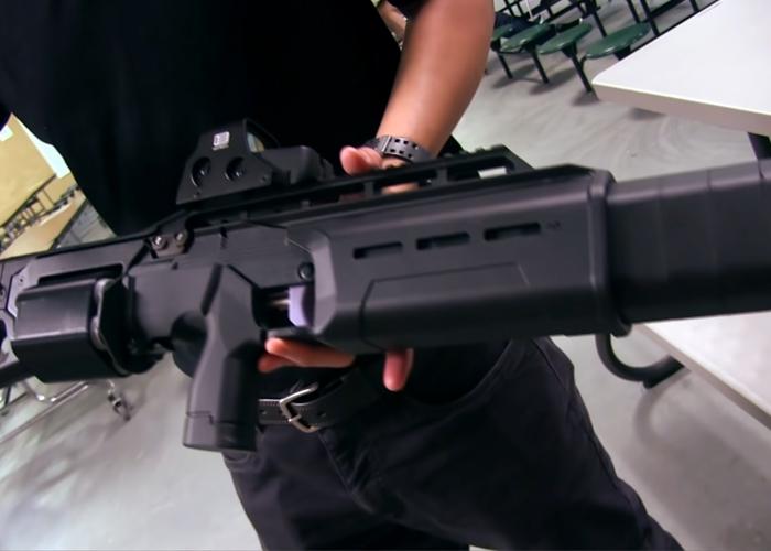 USAirsoft: Prototype SIX12 Bullpup Airsoft Shotgun