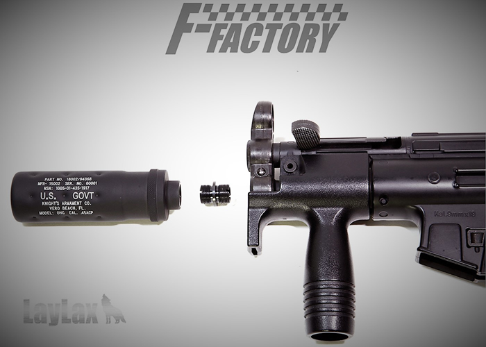 Laylax FF TM MP5 Kurz SAS NEO Silencer Attachment