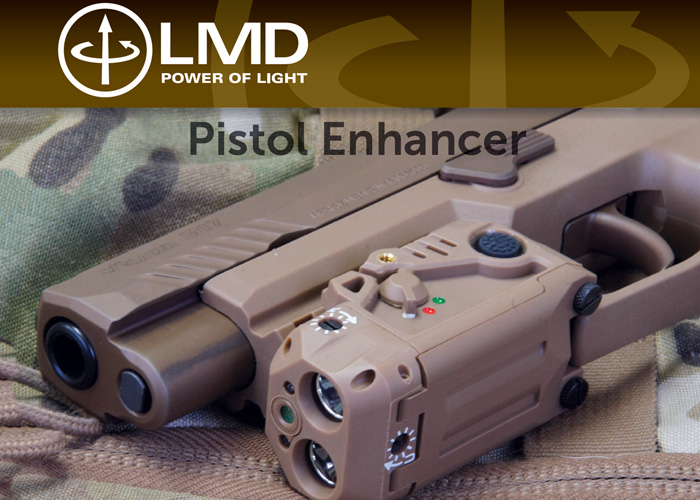 LaserMax Defense Pistol Enhancer (LMD-PE-IR-1)