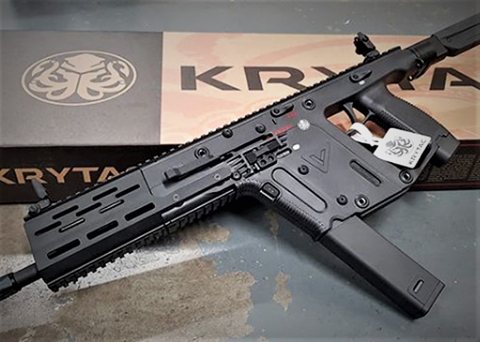 LWA Limited Edition Krytac KRISS Vector AEG