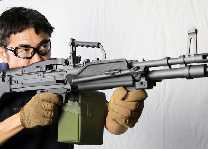 Mach Sakai: A&K MK43 M60 LMG
