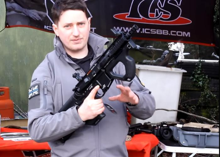Magaz: ICS-ASG HERA Arms CQR AEG Overview