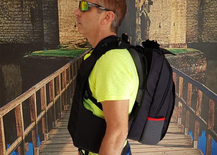 Masada Armour Protective Backpack