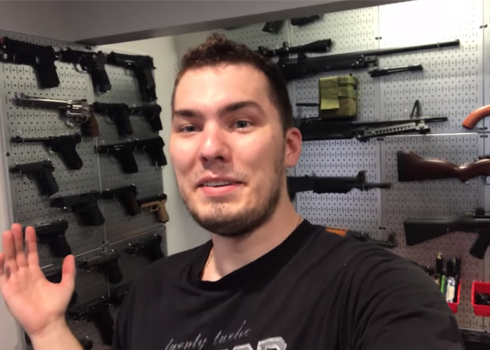 Max Cherepenin's Airsoft Gun Wall