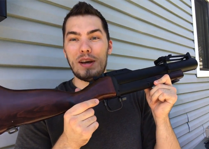 Max Cherepenin King Arms M79 Launcher Shooting Demo
