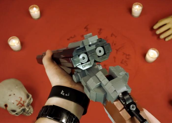 MDUN: DOOM Super Shotgun Made Of LEGO