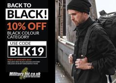 Military 1st Black Category Sale 2019