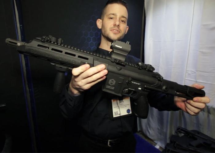Milsim Media SHOT 2018: Maxim Defense MDX-415 GBB-R Prototype