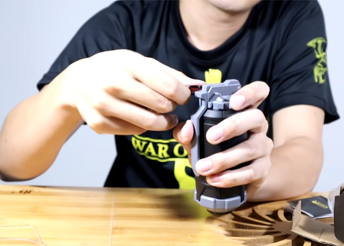 Mr. Maxbot GBR Spring Powered Airsoft Grenade Review