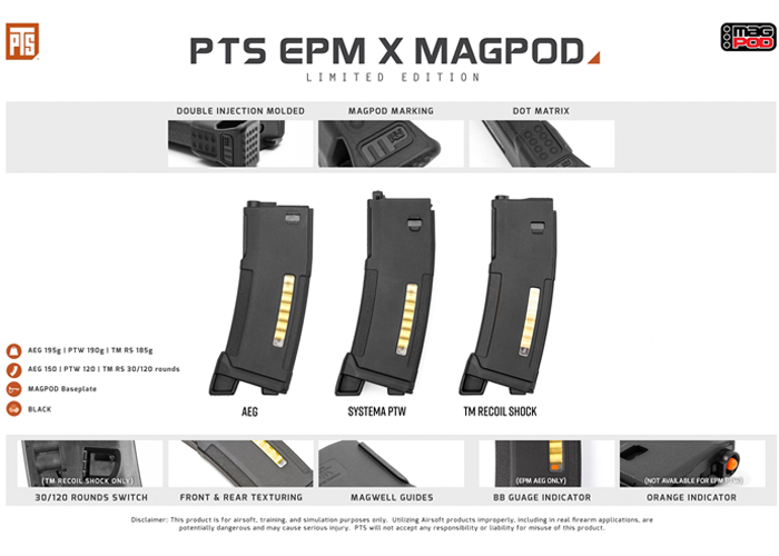 PTS EPM x MAGPOD Limited Edition