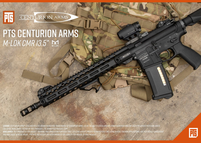 "PTS Centurion Arms CMR M-LOK 13.5"""