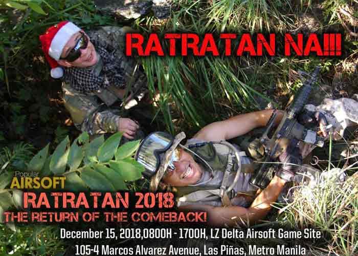 Ratratan 2018 Game On