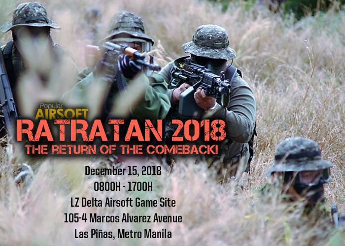 Ratratan 2018 Official Announcement