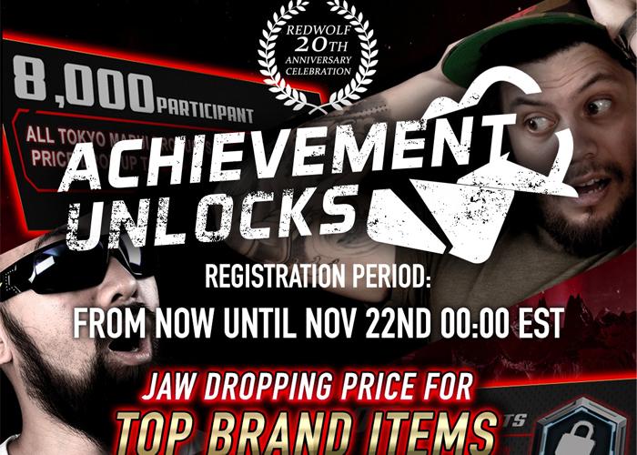 RedWolf Airsoft Achievement Unlocks