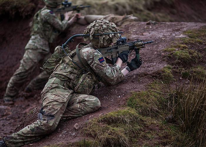 SA80A3 Rifle (MOD)