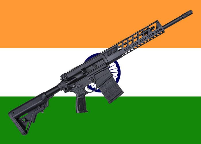 SIG Sauer SIG716 Indian Flag