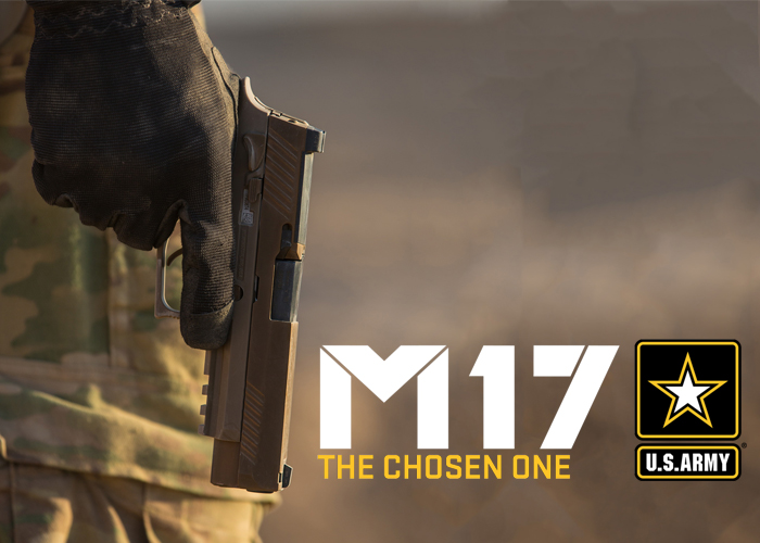 "SIG Sauer P320-M17 ""The Chosen One"""