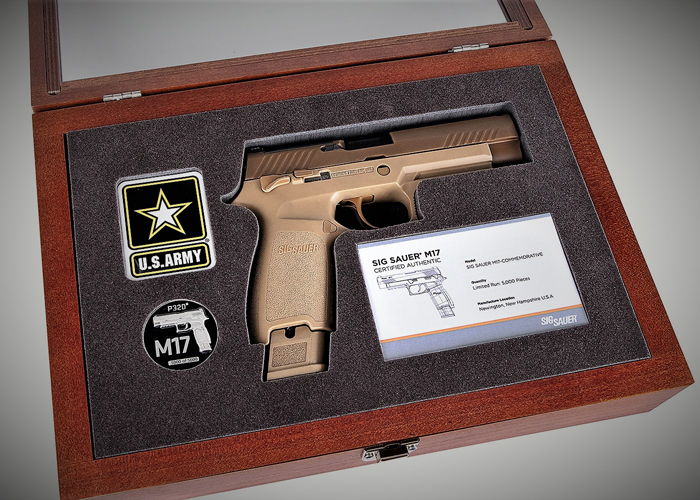 SIG SAUER Limited Edition M17 Commemorative Pistol