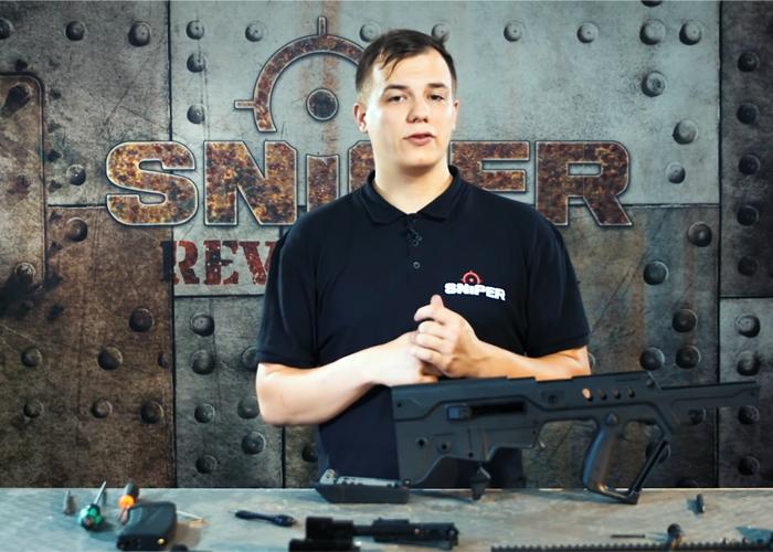 Sniper AS KWA Tavor GBB Rifle Disassembly