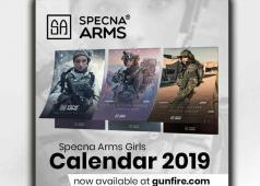 Specna Arms Girls 2019 Calendar