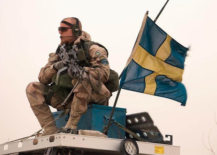 Swedish Soldier in Afghanistan