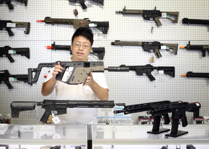 Toronto Airsoft: Krytac Preview Part 1