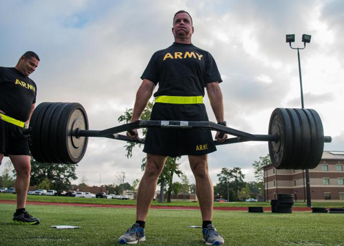 U.S. Army TRADOC Deadlift Exhibition (US Air Force Photo)