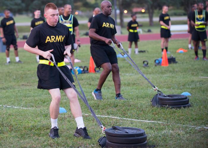U.S. Army Combat Fitness Test