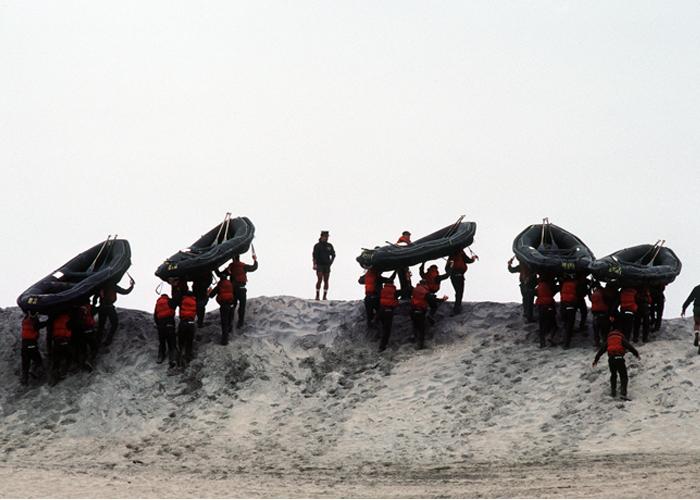 U.S. Navy Basic Underwater Demolition/Sea-Air-Land (SEAL) (BUD/S) Trainees
