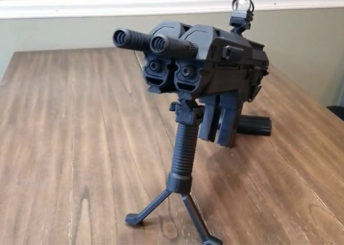 Valor Bound Studios Dual HPA Airsoft Gun