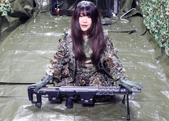 Vera Rockrose: S&T DSR-1 Sniper Rifle