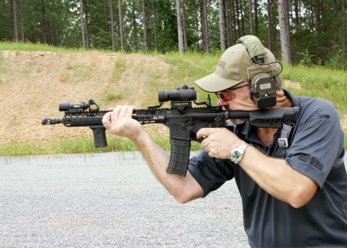 The Vickers Tactical Aimpoint Challenge