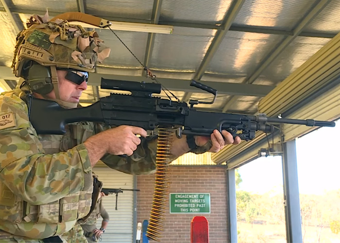 Australian Army HQ AAS Reaper Weapon Support System