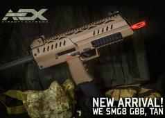 Airsoft Extreme: WE SMG8 GBB