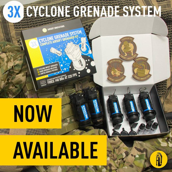 Airsoft Innovation Cyclone Impact Grenadier Kit