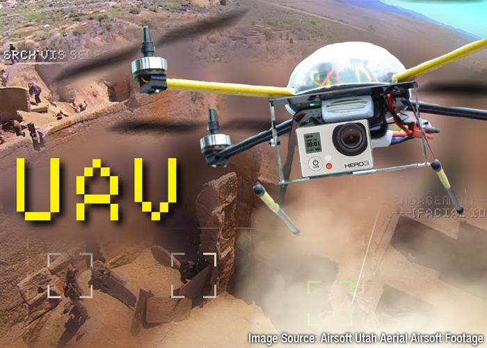 Airsoft Utah Aerial Airsoft Footage Captured - Quad Copter
