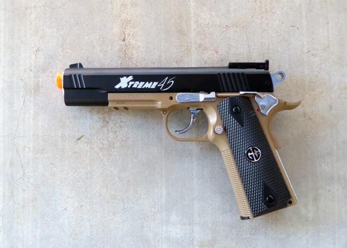 Airsoftology: G&G Xtreme 45 Pistol