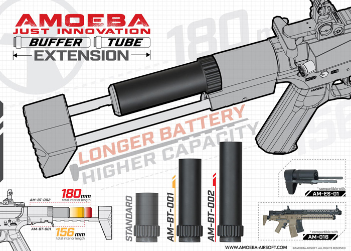 Amoeba Battery Extension for AM-016
